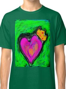 Love is King  Classic T-Shirt
