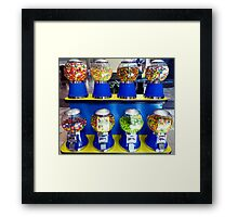"""""""What Ever Happen To The Days Of A Nickle Gum Ball Machine?"""" Framed Print"""
