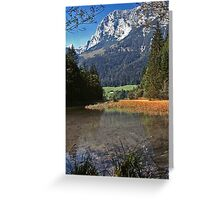 Hintersee, Germany Greeting Card