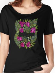 Killin' It – Tropical Pink Women's Relaxed Fit T-Shirt