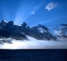 Sunrise in Cancun by DBArt
