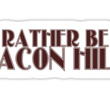 I'd rather be in Beacon Hills Sticker