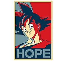 Hope! Goku Photographic Print