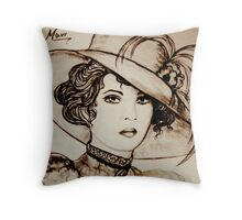old hat Throw Pillow
