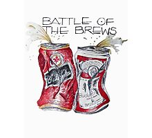 Battle of the Brews Photographic Print