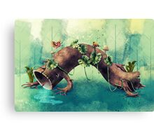 Forest Creature Canvas Print