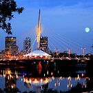 Downtown Winnipeg by Larry Trupp