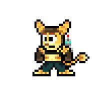 Ratchet & Clank Pixel by DrunkPolarBear