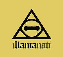 iLLAMAnati (Goat Eye Illuminati) by jezkemp