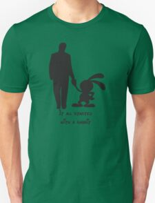 It all started with a rabbit. Unisex T-Shirt