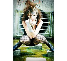 Snake Lady featuring Onix Photographic Print