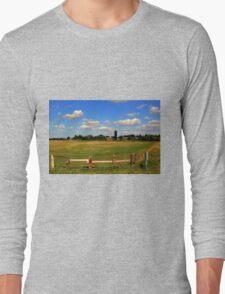 Pastoral Landscape Long Sleeve T-Shirt