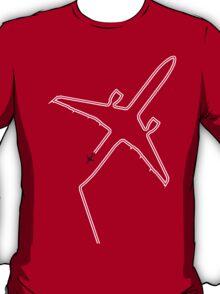 Contrails slight delay. T-Shirt