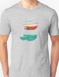 Floating Boat Unisex T-Shirt