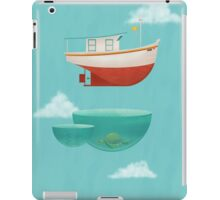 Floating Boat iPad Case/Skin