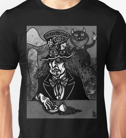 The MAD HATTER Unisex T-Shirt