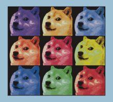 Pop Art Doge Kids Clothes