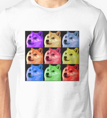Pop Art Doge Unisex T-Shirt