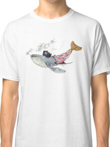 Pirate Whale Classic T-Shirt