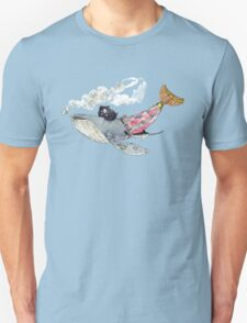 Pirate Whale Unisex T-Shirt
