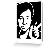 Bill Hicks Greeting Card