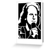 STEVEN WRIGHT   Greeting Card