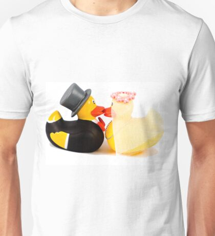 Wedding ducks in love! Unisex T-Shirt