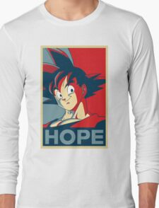 Hope! Goku Long Sleeve T-Shirt