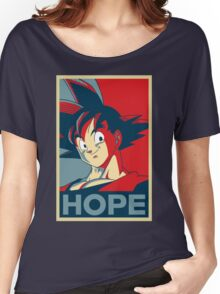 Hope! Goku Women's Relaxed Fit T-Shirt