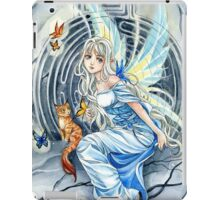 Labyrinth anime Fairy and cat  iPad Case/Skin