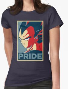Pride! Vegeta Womens Fitted T-Shirt