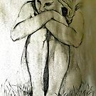 Nude Pencil Sketch by willowwyles