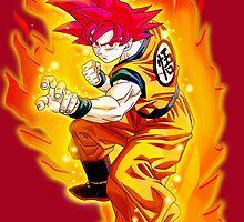 Super Saiyen Goku by razor93