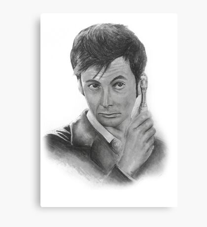 David Tennant from Doctor Who Canvas Print
