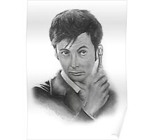 David Tennant from Doctor Who Poster