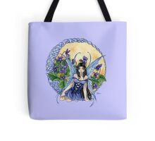 Celtic Violet Fairy Tote Bag