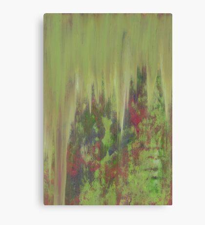 Patina Rain Canvas Print
