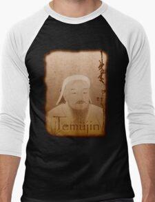 Temujin Men's Baseball ¾ T-Shirt