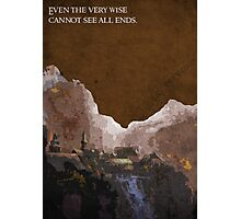 The Fellowship of the Ring inspired design (2). Photographic Print