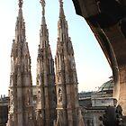 Milan Duomo by Indrani Ghose