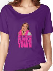 Pewdiepie Town Women's Relaxed Fit T-Shirt