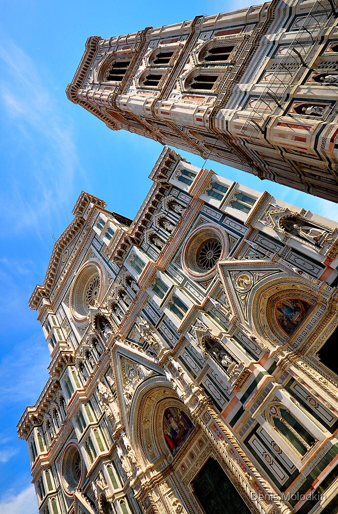 Duomo - Gothic Masterpiece V by Denis Molodkin