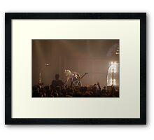 K. K. Downing - Judas Priest Framed Print