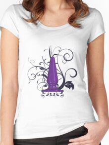 Ornate Butt Plug Women's Fitted Scoop T-Shirt