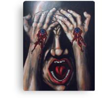 look at my new piercings Canvas Print