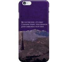 The Two Towers inspired design (2). iPhone Case/Skin