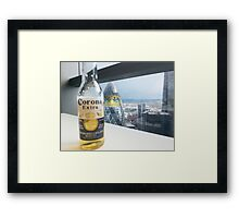 Beer Event in London Framed Print