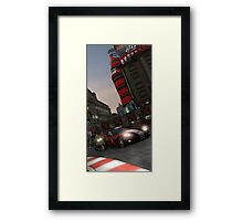 The big red one. Framed Print