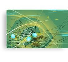 Three Eggs Canvas Print