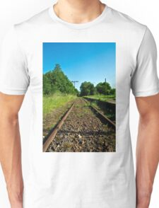 Forgotten railway line to ... Unisex T-Shirt